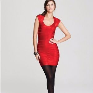 French Connection Spotlight Bandage bodycon dress